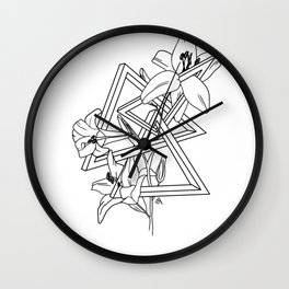 Interdimensional Wall Clock