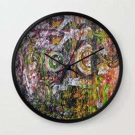 Kill Basquiat Wall Clock