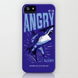 Hey, I'm ANGRY iPhone Case