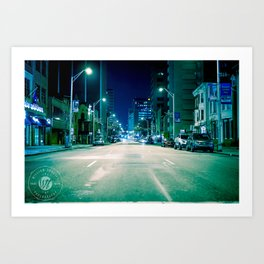 Get with the program. Art Print