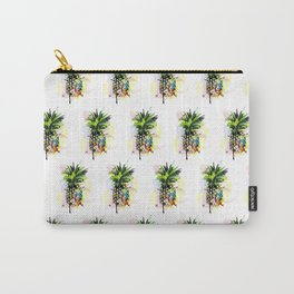 Abstract Watercolor Pineapple Carry-All Pouch