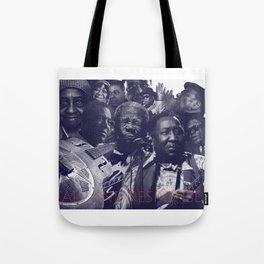 Call and Response Blues Tote Bag