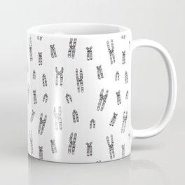 Condensed Chromosomes Pattern Coffee Mug