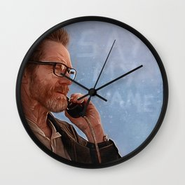 Say My Name - Walter White - Breaking Bad Wall Clock