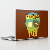 goonies Laptop & iPad Skins featuring The Goonies by tuditees