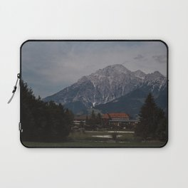 View of Austrian Alps Laptop Sleeve
