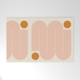 Abstraction_SUN_LINE_ART_Minimalism_002 Welcome Mat