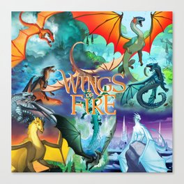 Wings Of Fire Painting Canvas Print