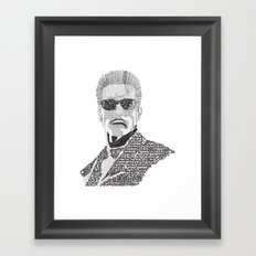 Terminator Framed Art Print