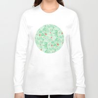 plants Long Sleeve T-shirts featuring plants by Jordan Walsh