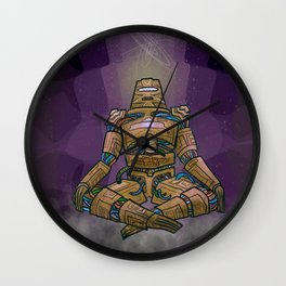 The Mind in the Creation Wall Clock