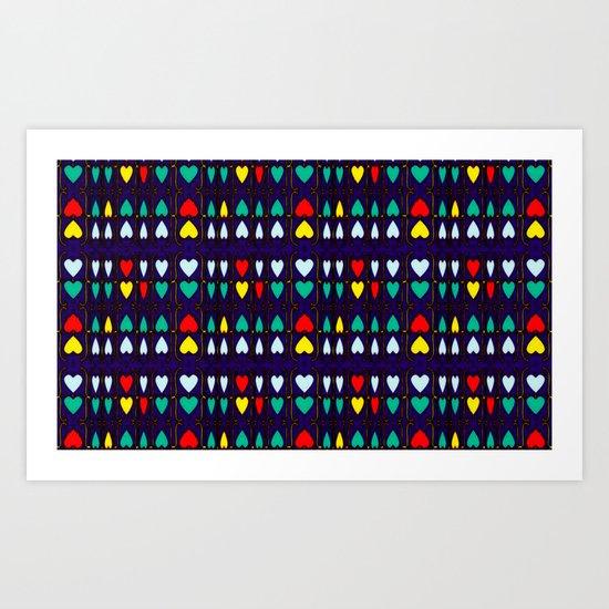Heart Hugs Art Print