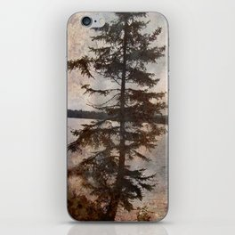 The Jagged Tree iPhone Skin