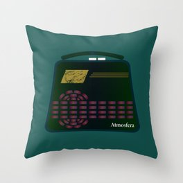 Little Radio Throw Pillow