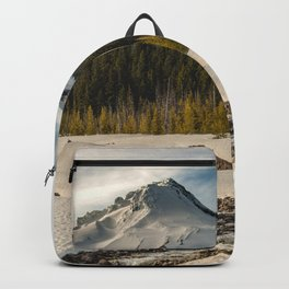 Marvelous Mount Hood at sunset Backpack