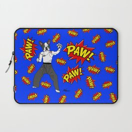 PAW POW - Kungfu Dog Laptop Sleeve