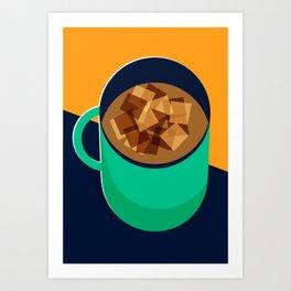 Mug of Coffee Art Print