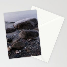 Stones in Sea Stationery Cards