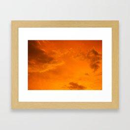 Cloudscapes V Framed Art Print