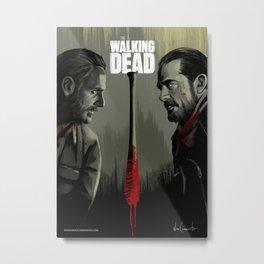 the walking dead season 8 Metal Print