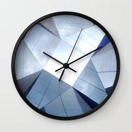 Barcelona Mirrors Wall Clock