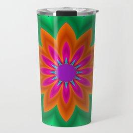 kaleidoscopic art -3- Travel Mug
