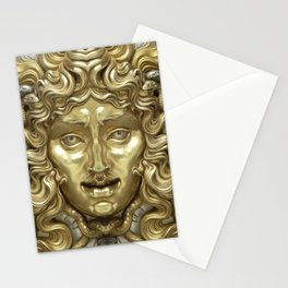 """""""Ancient Golden and Silver Medusa Myth"""" Stationery Cards"""