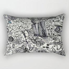 Black/White #2 Rectangular Pillow