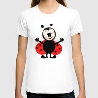 ladybug T-shirts featuring Ladybug by Digital-Art