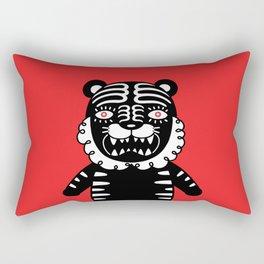 Kuro the Black Tiger Rectangular Pillow