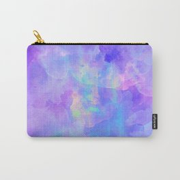 Abstract watercolor colorful painting Carry-All Pouch