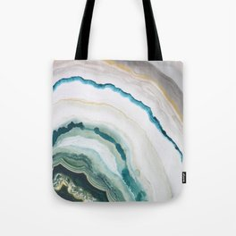 Green Agate #1 Tote Bag