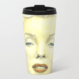 Marilyn Monroe comic book cover Travel Mug