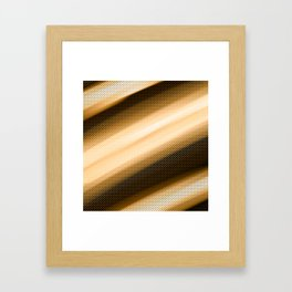 Gold scales Framed Art Print