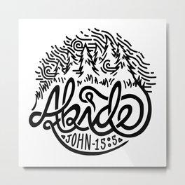 Abide Metal Print