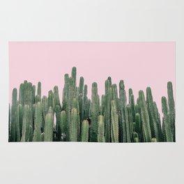Pink Sky Cactus Rug
