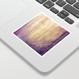 Colorful Forest Sticker