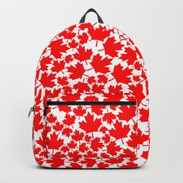 Canadian fall / Canadian flag maple leaf pattern Backpack