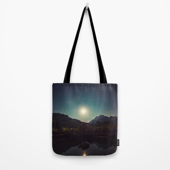 Moonshine, Stars and Nature Tote Bag