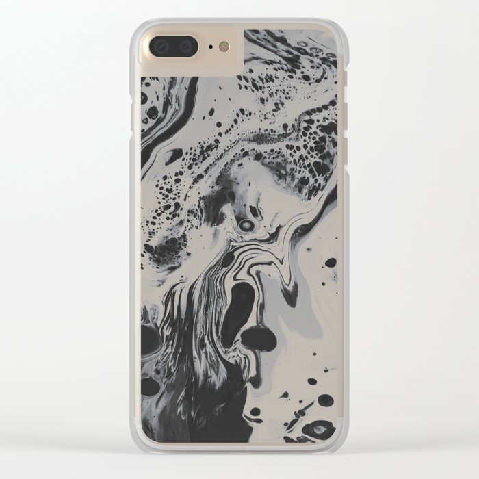 Big Empty Clear iPhone Case
