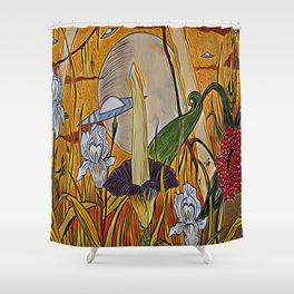 Alien Beauty Shower Curtain