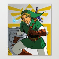 The Legend of Zelda: Link Canvas Print