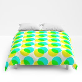 dots pop pattern 3 Comforters
