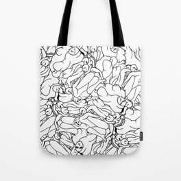 Fifty shades of Love (Light) Tote Bag