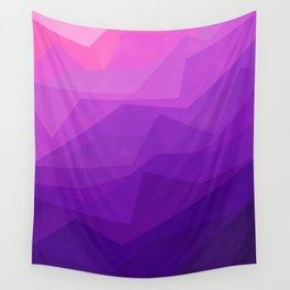 Stratum 3 Purple Wall Tapestry