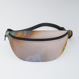 Translucent Teal & Rust Agate Fanny Pack