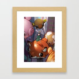 Heights Framed Art Print