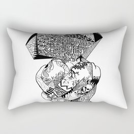 Clones in Love Rectangular Pillow