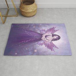 Mirabella Purple Butterfly Fairy Rug