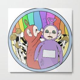 Mushroomtubbies Metal Print